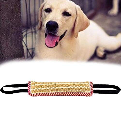 HWZ Dog Training Bite Wedge Training Bite Sleeve Grip Builder Tug Toy For Training Young Dogs Bite Pillow Molar Stick