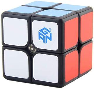 SnapX GAN 249 V2 M 2x2 Speed Cube Magnetic Gans Black Puzzle