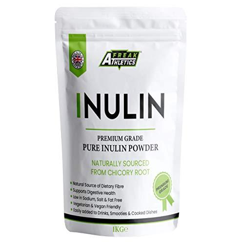 Inulin Poeder 1kg - High Grade Fibre Poeder - Hersluitbaar zakje Inclusief - Gemaakt in het Verenigd Koninkrijk