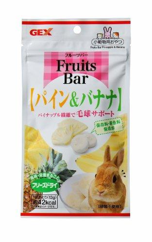 ジェックス Fruits Bar パイン&バナナ