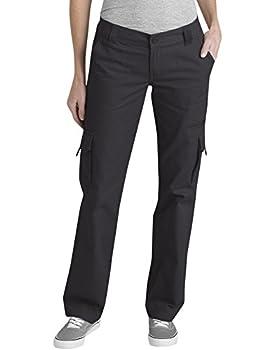 womens black cargo pants