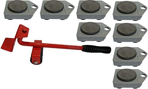Möbelheber Transportroller Set Möbelroller Umzugsset (1+8)