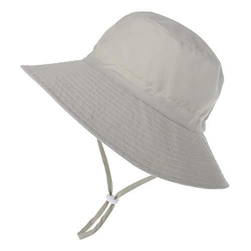 LACOFIA Sombrero de Sol para bebé niño UPF 50+ Ajustable...