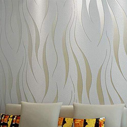 Takefuns Moderno 3D abstracto geométrico papel pintado rollo para dormitorio sala de estar suministros hogar decoración en relieve papel de pared
