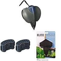 Suitable for aquariums up to 50 Litres 220 Litres per hour Elite Stingray 10 Carbon Media Combines ultragrade carbon and ammonia that removes zeolite in one cartridge Elite Stringray 10 Filter Foam Pad Change one every 2 weeks for crystal clear water...