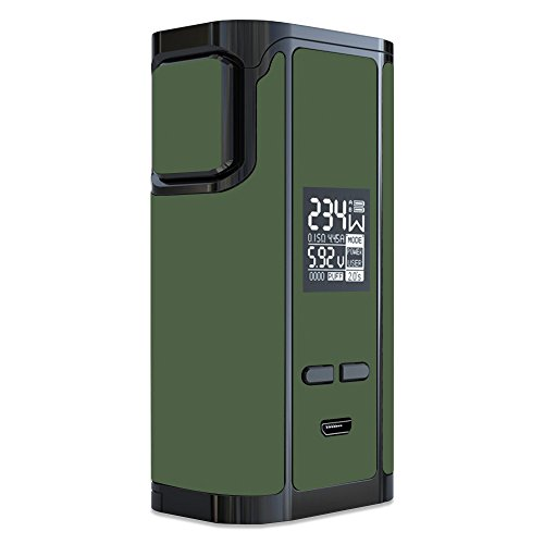 MightySkins Skin Compatible with iJoy Captain PD270 - Solid Olive | Protective, Durable, and Unique Vinyl Decal wrap Cover | Easy to Apply, Remove, and Change Styles | Made in The USA