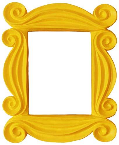 Handmade Friends Peephole Frame - As seen on Monica's Door on Friends TV Show (Yellow)