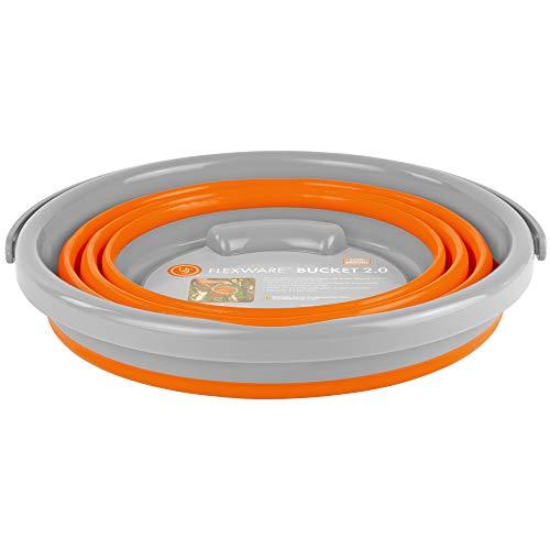 ust Flexware Collapsible Bucket 2.0, 2.64 Gallon, Orange (20-12267)
