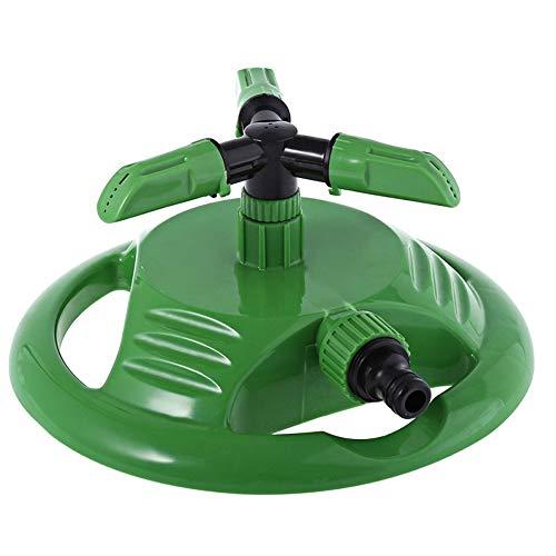Tuinsproeier Met 3-Armig, Automatisch Gazon-Sprinkler-Irrigatiesysteem, Multifunctioneel Roterend Sprinkler-Systeem Voor Gazon-Irrigatie, Tuinbesproeiing, Dakkoeling, 180 × 50 Mm (2-Delig)