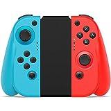 Wireless Controller für Nintendo Switch, BestOff 2er-Set Gamepad Links und Rechts, kabelloser Nintendo Switch Controller, Blau und Rot