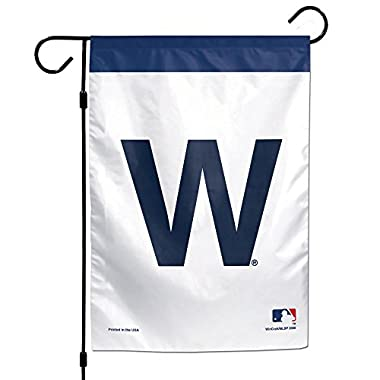 WinCraft Chicago Cubs W 12  x 18  Garden Flag