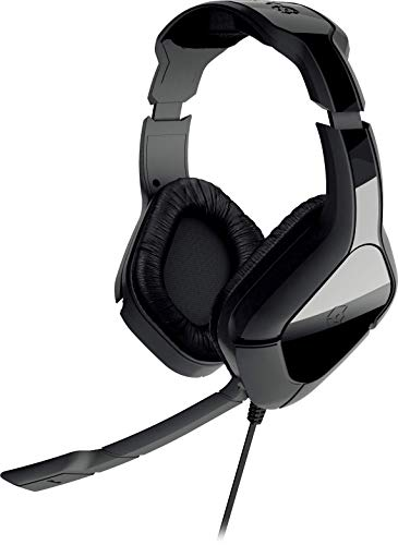 Gioteck, HC 2plus Wired Stereo Headset, Schwarz