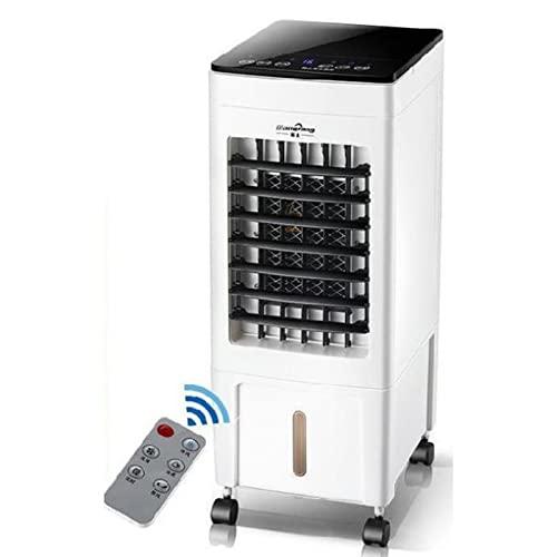 WGHH Ventola di condizionatore d'aria portatile, sistema di raffreddamento del dispositivo di raffreddamento del raffreddamento dell'umidificatore, mini condizionatore d'aria di raffreddamento dell'um