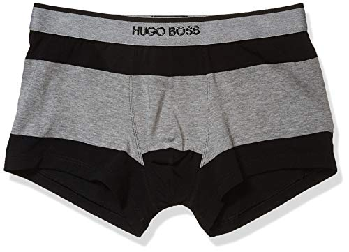 Hugo Boss Herren Trunk Stripe Badehose, Medium Gray, Large