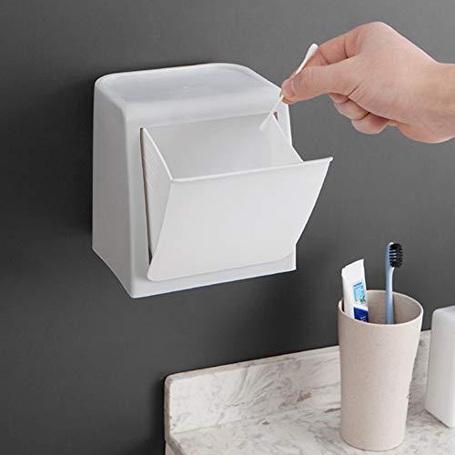 N/ Een Mini Keuken Afvalbak Kast Deurmand Opknoping Prullenbak Door-Gebouwd Stickers Prullenbak Opbergdoos Organizer