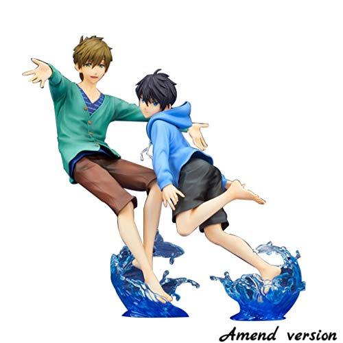 Kostenlos !: Haruka Nanase & Makoto Tachibana PVC Figur Modell Modell Spielzeug