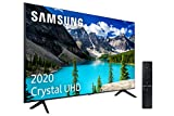 Samsung Crystal UHD 2020 65TU8005 - Smart TV de 65' con Resolución 4K, HDR 10+, Crystal Display, Procesador 4K, PurColor, Sonido Inteligente, One Remote Control y Asistentes de Voz Integrados