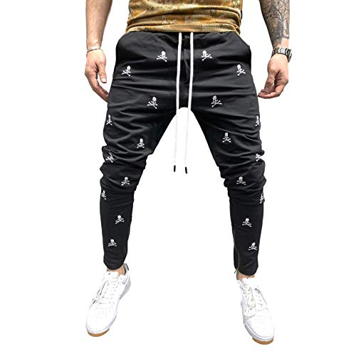 Pantalones de chándal para Hombre, Moda de otoño, impresión en 3D, Entrenamiento de Gimnasio, Pantalones para Correr, Pantalones de chándal Casuales con Bolsillos XXL