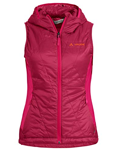 VAUDE Damen Weste Women's Freney Hybrid Vest IV, Crimson red, 38, 42298