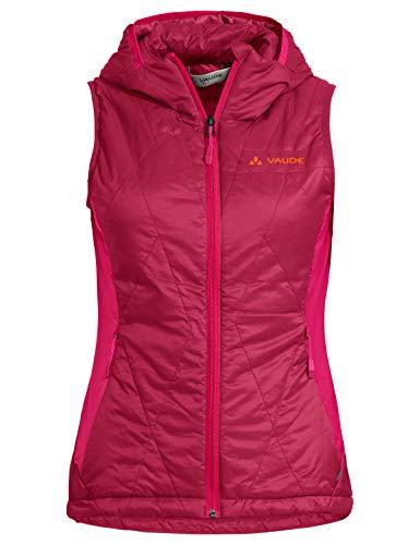 VAUDE Damen Weste Women's Freney Hybrid Vest IV, Crimson red, 38, 42298