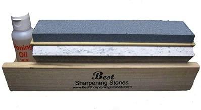 """Arkansas Tri-Hone Knife Sharpener - 3 Stones 10"""""""