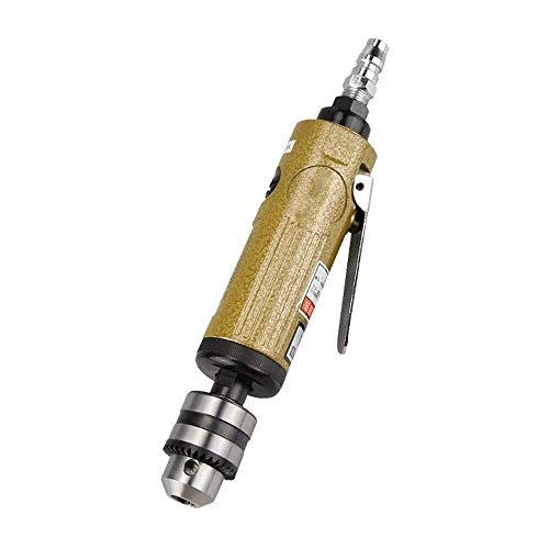 BJLWTQ Alta resistencia neumática recta taladro Vástago aire, velocidad del neumático de alta recta Aire taladro de mano multifunción grado industrial de herramientas y ergonómico