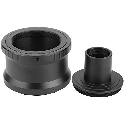 Adaptador de microscopio de cámara, convertidor de aleación de Aluminio T2-NEX para Anillo en T para Sony NEX Mount Anillo de Adaptador de microscopio para cámara