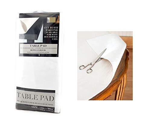 Felt Back Vinyl Table Pad Size 52