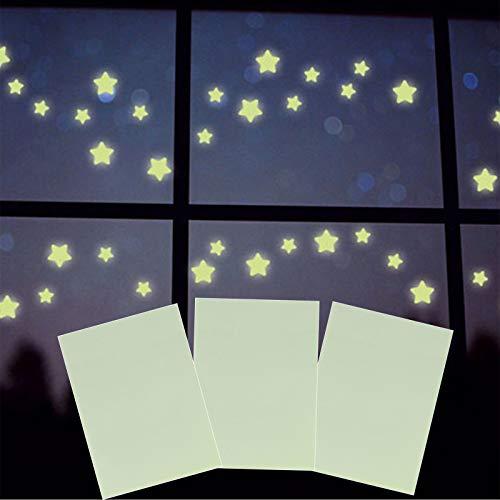 3pcs Fluoreszierende Folien zum Basteln 29cm x 21cm – Leuchtfolien selbstklebend