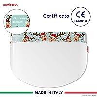 Pluribol Visiera Protettiva Paraschizzi in Pet Made In Italy Dispositivo di Protezione Individuale Cat.II CE 1 pezzo Bambini (3-12 anni) Reinder #4