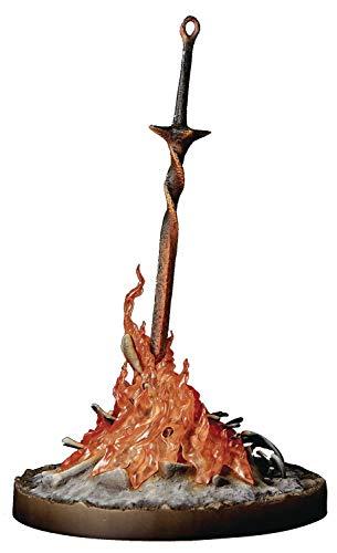 Gecco Estatua Hoguera (Bonfire) 21 cm. Dark Souls III. con luz. Escala 1:6