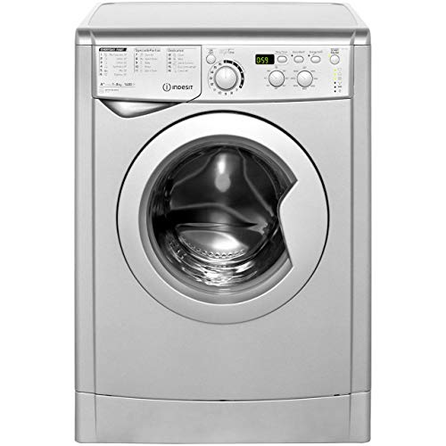 Indesit My Time EWD81482S 8Kg Washing Machine with 1400 rpm - Silver