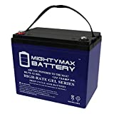 ML75-12GEL - 12 Volt 75 AH Rechargeable Gel Type SLA Battery - Mighty Max Battery Brand Product