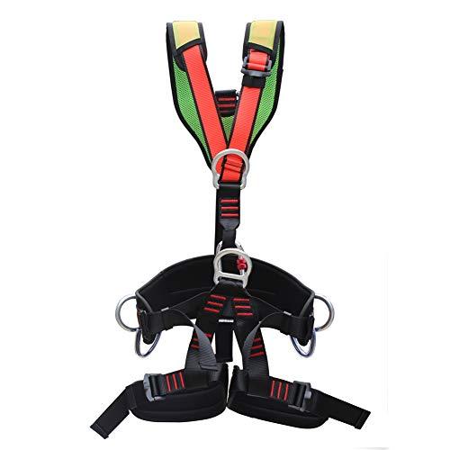 FCCD Klettergurt, Climbing Harness, Half Body Guide Harness Arbeitsschutzausrüstung Universal Klettergurt Auffanggurt Abnehmbare Ausrüstung Safety Absturzsicherung
