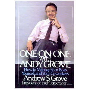 One-on-One Andy Grove 0140109358 Book Cover