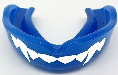 Paradenti dracula- vampiro fang Blu sensei J Signature Gum Shield 'fangs-teeth-Senior, MMA, Rugby, UFC WRESTLING Paradenti
