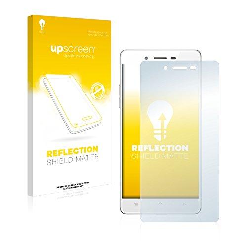 upscreen Entspiegelungs-Schutzfolie kompatibel mit Oppo Mirror 5s – Anti-Reflex Bildschirmschutz-Folie Matt