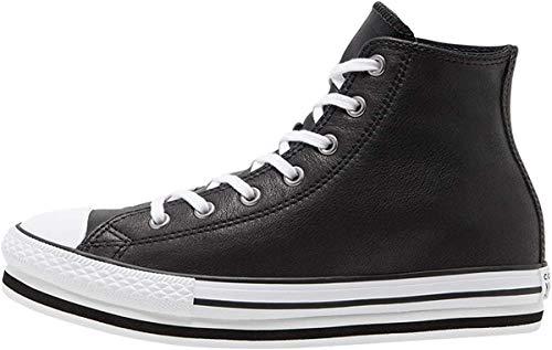 Converse Chuck Taylor All Star 2V, Zapatillas Niñas, Negro, 27 EU