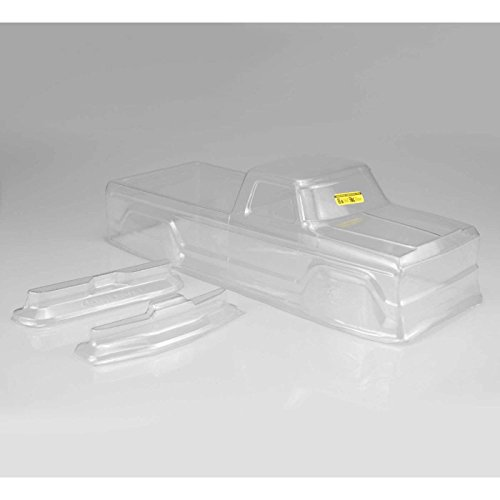 J Concepts Inc. 1/10 1979 Ford F250 Monster Truck Clear Body, JCO0305