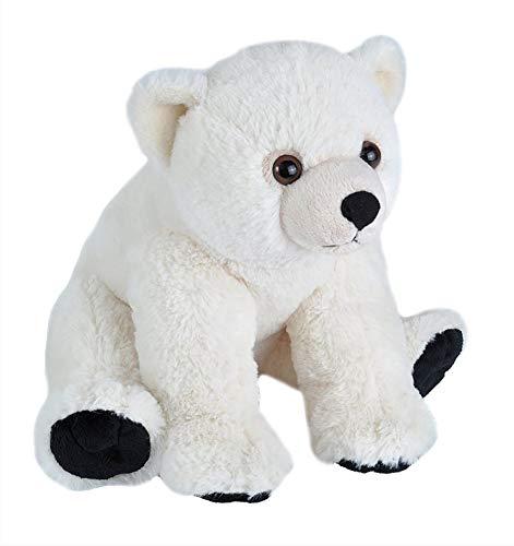 Wild Republic 10914 Plüsch Eisbär Baby, Cuddlekins Kuscheltier, Stofftier, 30 cm
