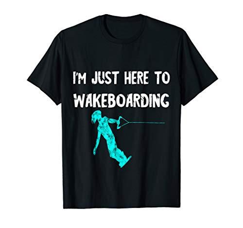 Wakeboard Wasserski Wakeboarden Wakeboarder Wassersportler T-Shirt