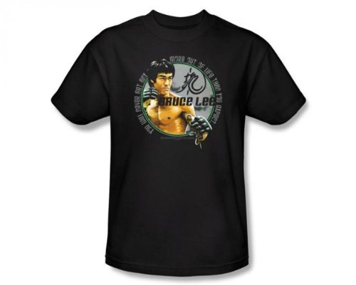 Bruce Lee Expectations Signature Quote Martial Arts Legend T-Shirt Tee Select Shirt Size: Small
