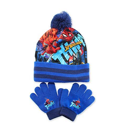Star Wars Set Mütze mit Bommel + Handschuhe für Jungen Gr. One size, PONPOM BLAU