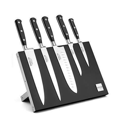 Sabatier Trompette 878000MBA107K Origin Bloc magnétique 5 couteaux de cuisine