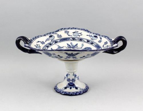 Tafelausatz porcelaine-motif : fleurs d'oignon