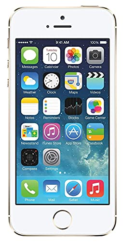 5S Gold Compatible with iPhone with (16GB Internal 1GB RAM) 1 Year Warranty