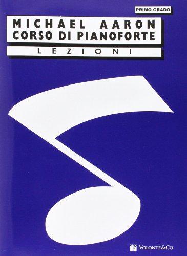 Corso di pianoforte. Primo grado
