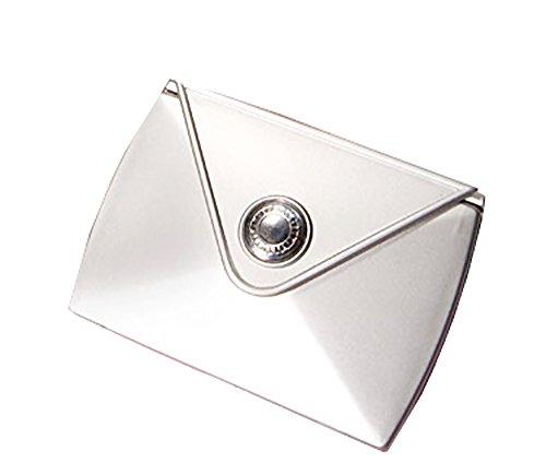 Mode faveurs bourse design miroir compact