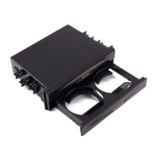 Kit de poche double ou simple DIN avec porte-gobelet et porte-gobelet pour voiture