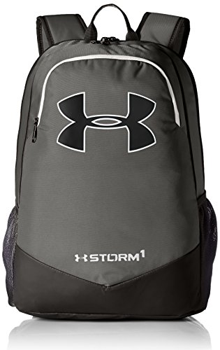 Under Armour UA Boys Scrimmage Backpack Mochila, Hombre, Gris (Graphite), 2.5x22.9x12.7 cm (W x H x L)
